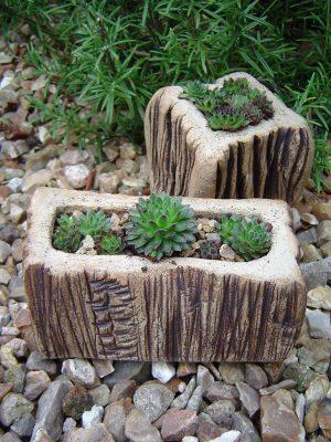 Cliff planters, square & rectangular