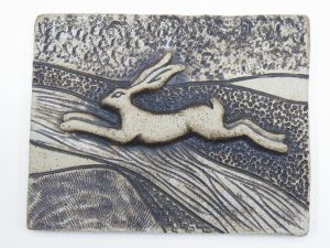 Leaping Hare plaque